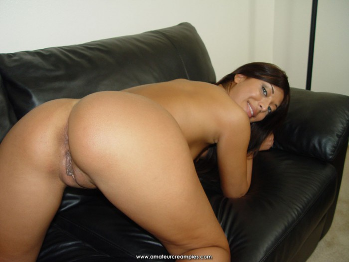 Audrianna Angel On All Fours