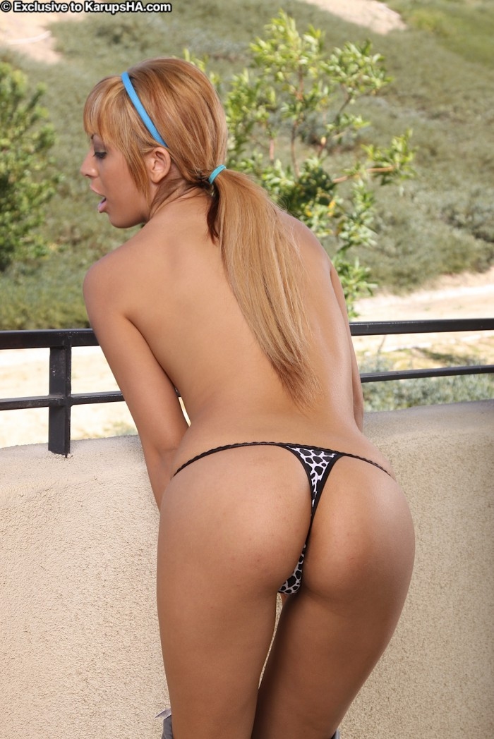 Audrianna Angel Thong
